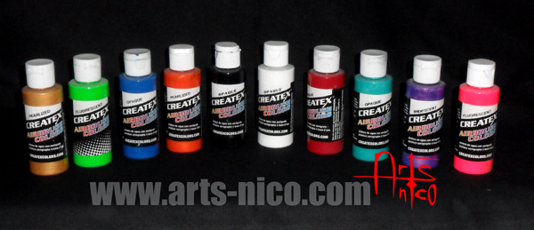 peintures pour aérographe . - Diluer Peinture Acrylique Avec De L Eau