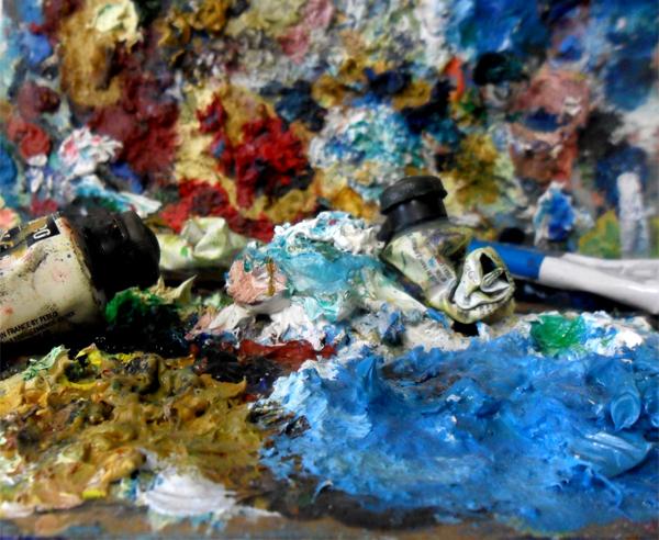 Peinture à l' huile.