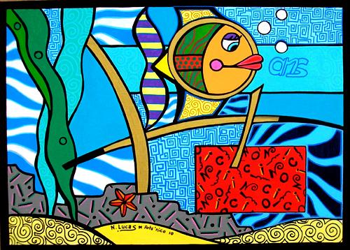 Peinture acrylique 46x33