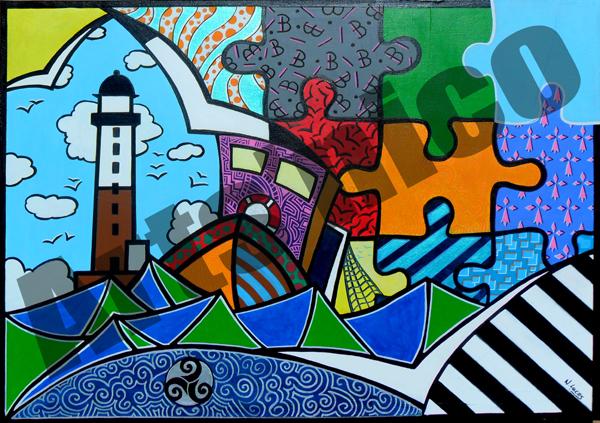 Peinture acrylique 92x65