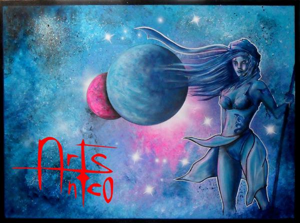 Art BD, peinture acrylique 54x73