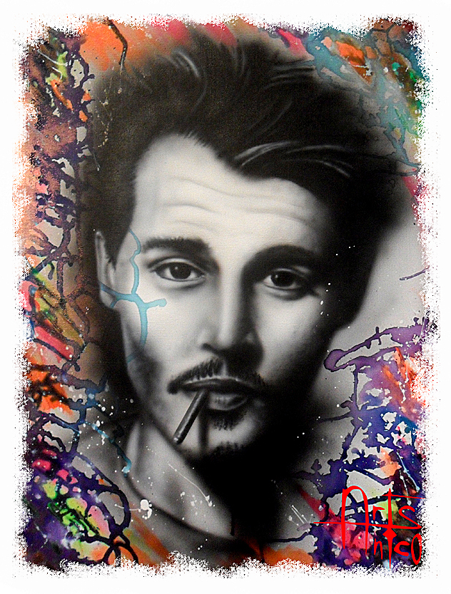 Portait de Johnny-Depp
