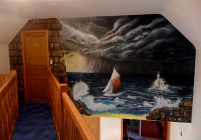 fresque murale arts-nico