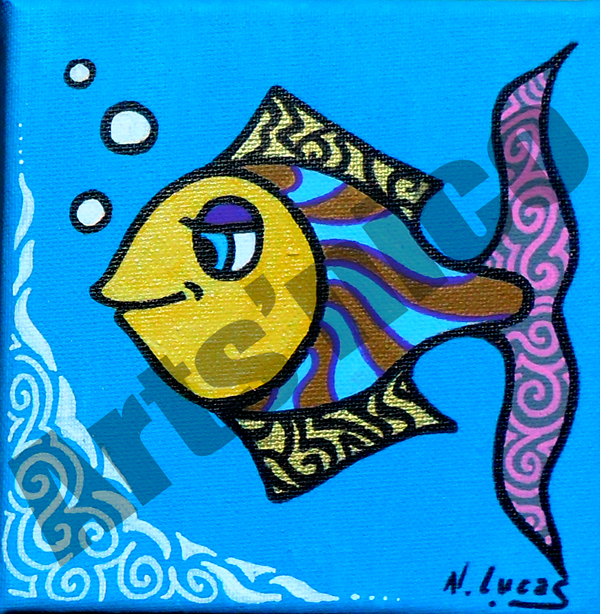 Peinture acrylique arts'nico 15x15