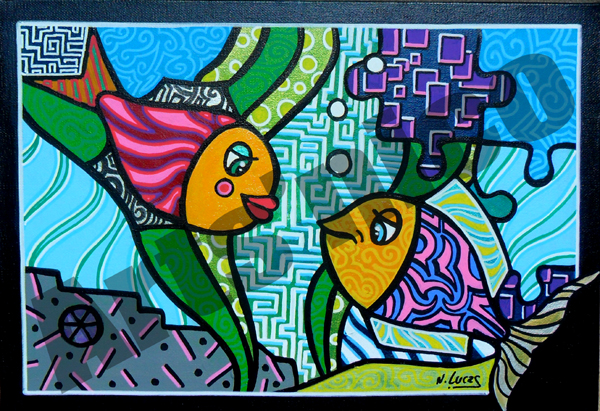Peinture acrylique 24x35