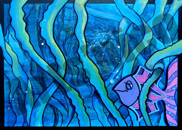 Peinture acrylique arts'nico 46x33
