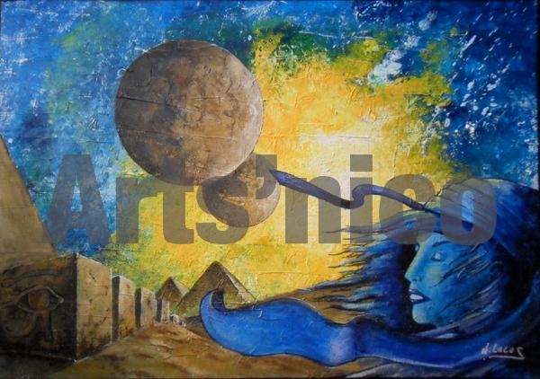 Art-BD, peinture acrylique